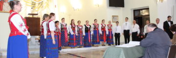 Nasz chór na festiwalu w Tarnowie